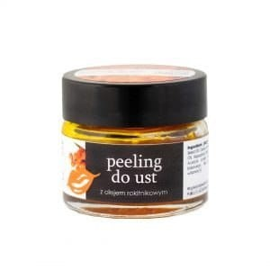 Peeling do ust z olejem rokitnikowym 20ml - YOUR NATURAL SIDE