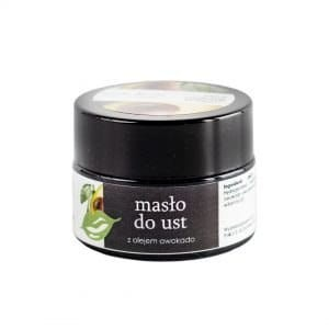 Masło do ust z olejem awokado 15ml - YOUR NATURAL SIDE